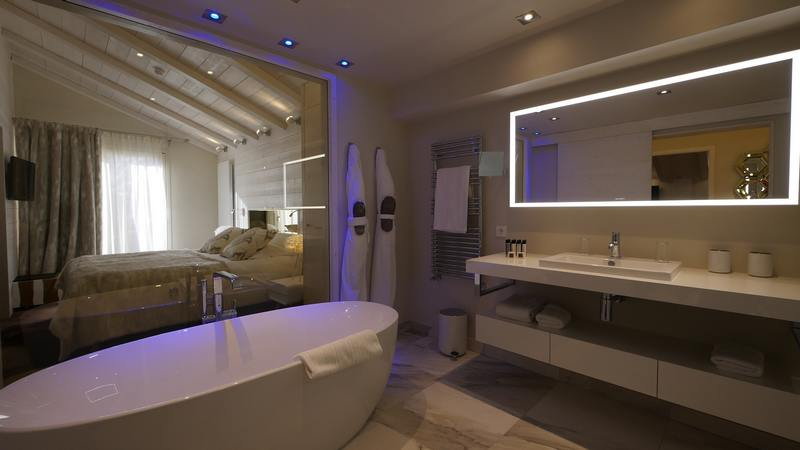 suite familiale de l'hotel 4 étoiles en Savoie