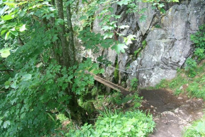 sentier des roches hohneck la schlucht