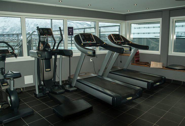 hotel avec salle de musculation