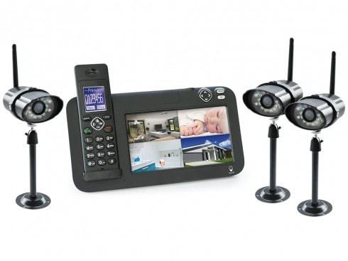kit videosureveillance avec camera sans fil