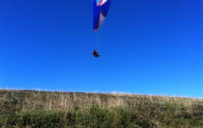 vol parapente dans les Vosges